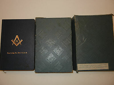 Vintage 1940 Masonc Edition Bible & Box The Great Light In Masonry By A J Holman