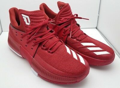 cheap for discount 94018 9ace3 Adidas SM Dame 3 NBA NCAA Mens Basketball Shoes ART CQ0288 Red 12 M MSRP  100