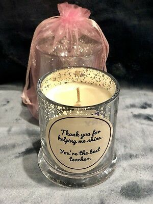 Teacher Appreciation Gift - Candle