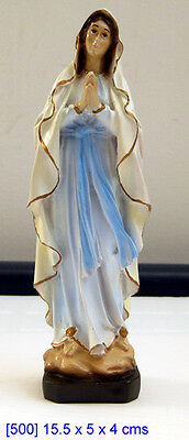 Mary of Lourdes Religious Statue Devotion Birthday Gift Housewarming MUST SEE