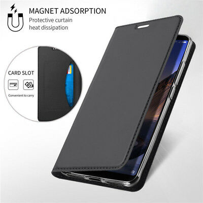 For Xiaomi Mi Max 3 Mix 2S Mix Slim Leather Flip Wallet Card Magnetic Case Cover