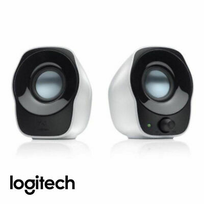 Logitech Z120 USB Mini Stereo Speakers Compact Music Players PC AU Fast Shipping