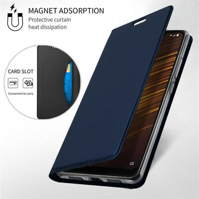 For Xiaomi Pocophone F1 A2 8 Lite Leather Flip Wallet Card Magnetic Case Cover