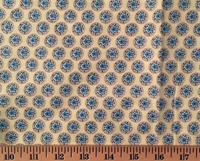 VINTAGE 36 Inch COTTON Great Quilting & Sewing Fabric Floral Print BTHY