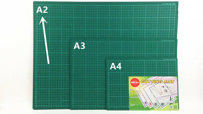 RENO ART A2 Self Healing Cutting Mat Green Art Craft DIY