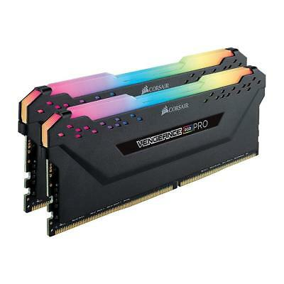Corsair VENGEANCE RGB PRO 16GB (2x8GB) 3200MHz DDR4 Black Desktop Memory Kit