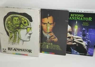 Re-Animator Trilogy - Blu-ray - Limited Edition - Steelbook - Collector's Ed.