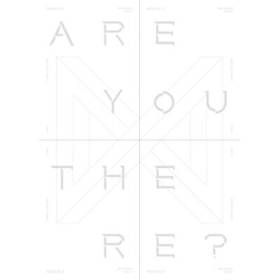 Monsta X-[Take.1 Are You There?]2nd Album 4 SET CD+Poster+PhotoBook+Card+Gift