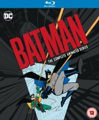 Batman Season 1 2 3 4 Deluxe Limited Edition New RB Blu-ray The Animated Series