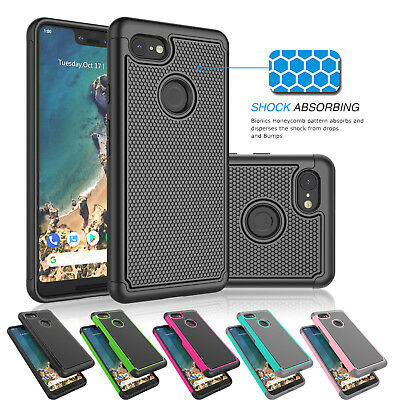 For Google Pixel 3 / 3 XL Shockproof Hybrid Rugged Armor Phone Case Cover