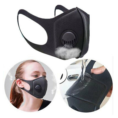 PM2.5 Air Washable and Reusable Dust Mask Respirator Anti Pollution Face Masks