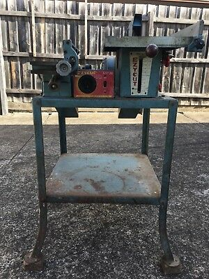 """Vintage Ezycut 8"""" Table Saw + 4"""" Planer + Side Drill Chuck.australian Made"""