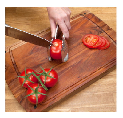 Slicing Helper For People With A Weak Grip or Arthritis - Perfect For Salads