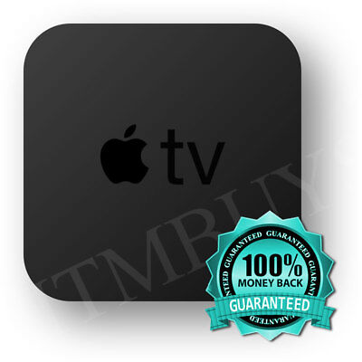 Apple TV - 3rd Generation 8GB HD Media Streamer A1427 Remote Included-Ship Fast!