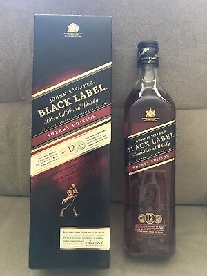 Johnnie Walker Black Label- Sherry Limited Edition