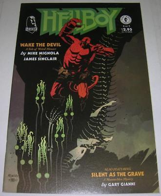 HELLBOY WAKE THE DEVIL #4 (2009) Mike Mignola story & art (FN/VF) RARE