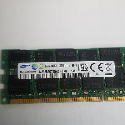 96GB = 6x 16GB PC3-12800R Memory Dell PowerEdge R520 R610 R620 R710 R720 R810