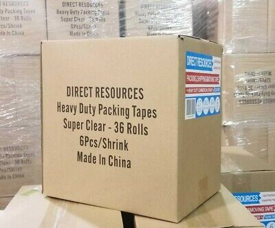 36 Rolls Moving Storage Packing Tape Heavy Duty Shipping Packaging 2 inch