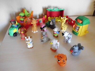 Little People Fisher Price Zoo mit vielen Figuren