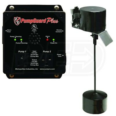 PumpGuard Plus Automated Duplex Pump Controller and Alarm