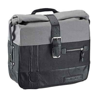 Moto Borsa da Sella, Held Canvas, Nero Grigio, 2x12L