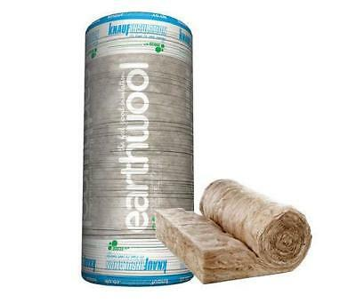 Knauf Earthwool Loft insulation roll floor and roof lagging 100 150 170 & 200mm