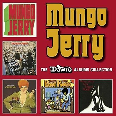 Mungo Jerry - The Dawn Albums Collection (5Cd Box Set)  5 Cd New+