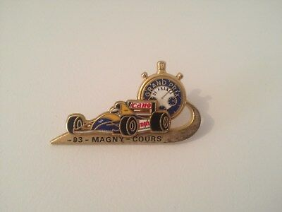 Pin's F1 Grans Prix Magny Cours Canon Tirage 300 Exp Lb Creations
