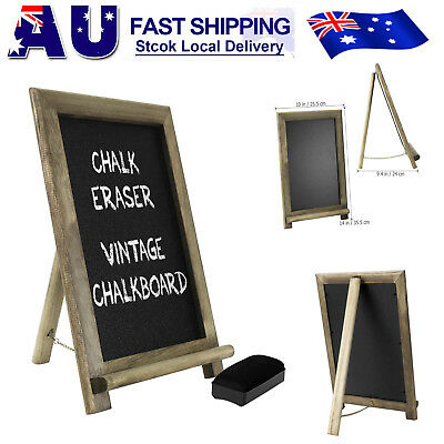 Hanging Chalkboard Blackboard Framed Rustic Wedding Party Photo Booth Photobooth