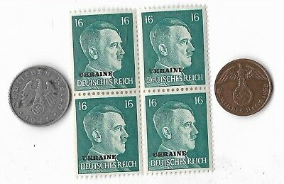 Rare Old German WWII Period WW2 Germany Coin Stamp Great War Military Collection