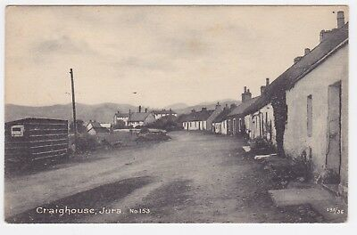 Scotland Isle of Jura postcard Craighouse