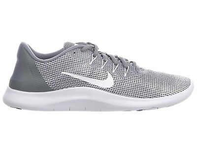 dca845625320d Nike Flex 2018 RN Mens AA7397-010 Cool Grey White Knit Running Shoes Size 12