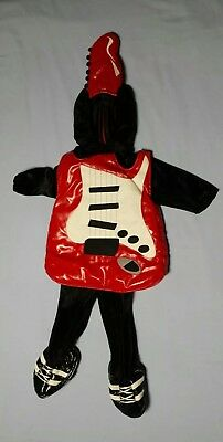 Halloween Costume ~ Cozy & warm Guitar size 18 Month Old Child