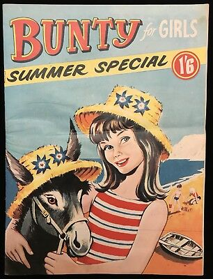 Bunty Comic Summer Special 1969 - Holiday Fun - DC Thomson