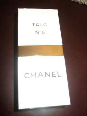 Vintage Chanel No5 Talcum/Talc/Body Powder Boxed Sealed Rare Discontinued 150 g