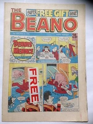 DC Thompson THE BEANO Comic. Issue 2394. June 4th 1988. **Free UK Postage**