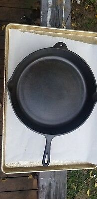 Birmingham Stove and Range(BSR) #14A Cast Iron Skillet Cleaned and Seasoned