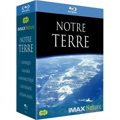 IMAX Nature - Notre Terre (Coffret 5 Blu-ray neuf sous blister )