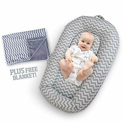 NEWBORN AND INFANT BABY LOUNGER PORTABLE BASSINET NEST ~ Perfect for Co Sleeping