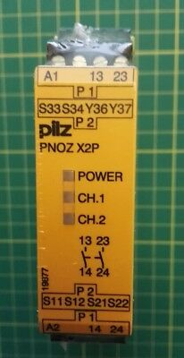 Pilz PNOZ X2P Safety Protection Relay 24 VAC/DC 2n/o*BRAND NEW SEALED*