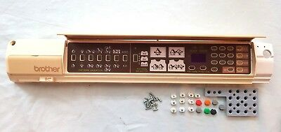 Brother Knitting Machine Part Accessories Kh910 Console And Button Assembly