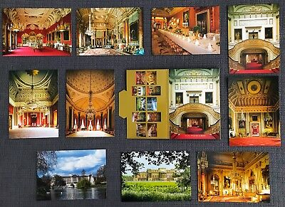 Buckingham Palace 10 Postcards Set