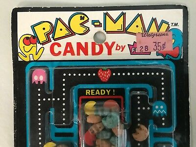 Early Fleer PAC-MAN Candy MOC Pacman