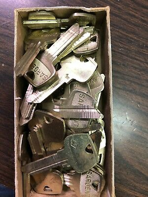Lot of Sargent 5 Pin Key Blanks 275LF Keyway