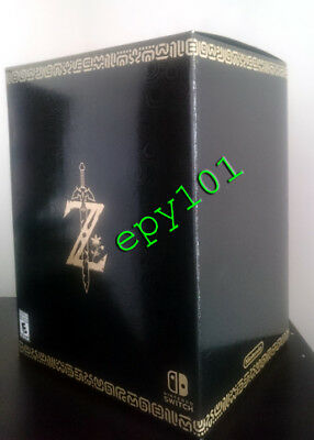 The Legend of Zelda: Breath of the Wild - Master Edition Nintendo Switch NEW