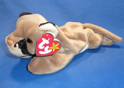 Mint ~ Ty Beanie Baby Babies ~ CANYON the COUGAR ~1998~ MWMTs ~ Plush ~ Retired