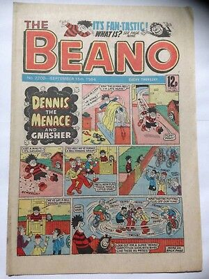 DC Thompson THE BEANO Comic. Issue 2200. September 15th 1984 **Free UK Postage**
