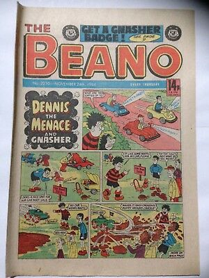 DC Thompson THE BEANO Comic. Issue 2210. November 24th 1984. **Free UK Postage**
