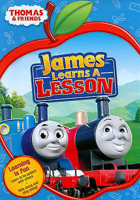 Thomas & Friends: James Learns A Lesson **^NEW*** (DVD)