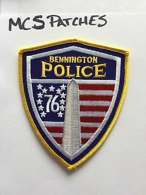 VERMONT (Bennington ) collectible Police Patch